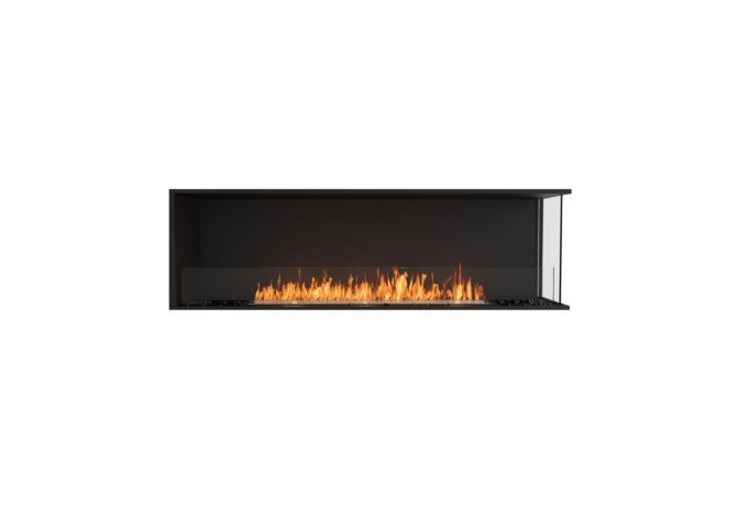 Flex 68RC Angle droit - Ethanol / Black / Installed View by EcoSmart Fire