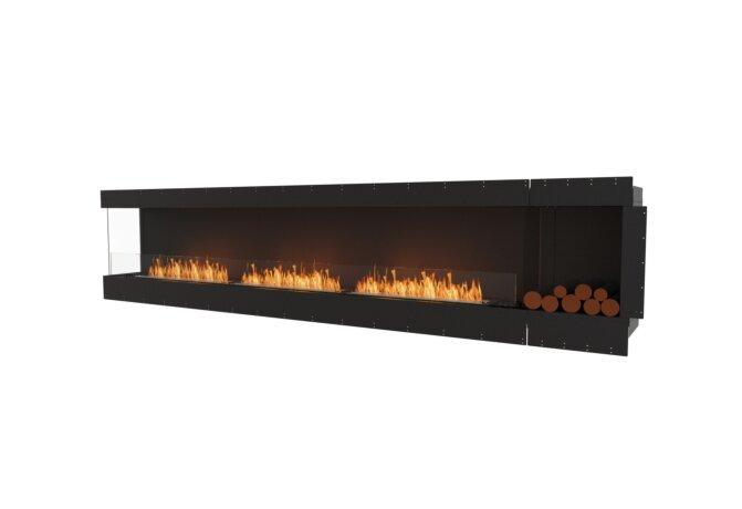 Flex 140LC.BXR Angle gauche - Ethanol / Black / Uninstalled View by EcoSmart Fire