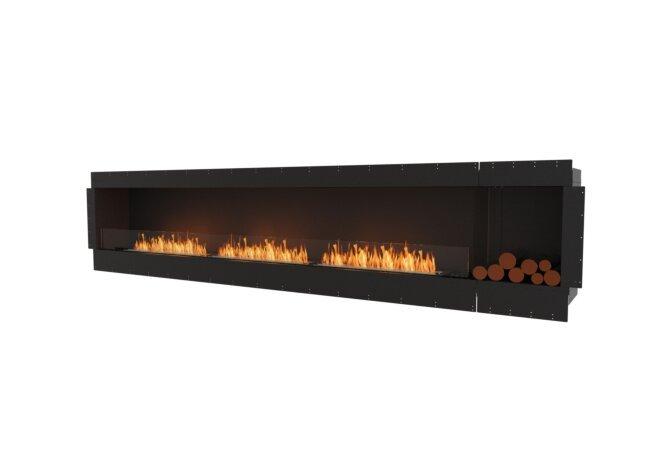 Flex 140SS.BXR Simple face - Ethanol / Black / Uninstalled View by EcoSmart Fire