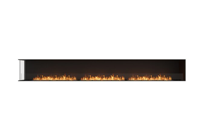 Flex 158LC Angle gauche - Ethanol / Black / Installed View by EcoSmart Fire