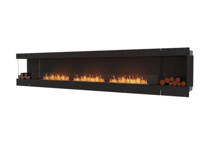 Flex 158LC.BX2 Angle gauche - Ethanol / Black / Uninstalled View by EcoSmart Fire