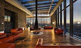TFKB Skylounge Commercial Fireplaces Brûleurs éthanol Idea