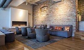 Lobby Linear Fires Simple face Idea