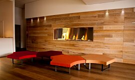 Korn Design Group Commercial Fireplaces Inserts de cheminée Idea