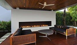 Flex 158SS Single Sided Fireplace by EcoSmart Fire Linear Fires Simple face Idea