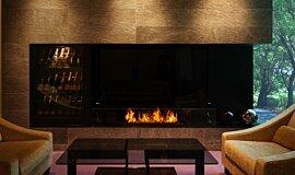 Salon de Louange Commercial Fireplaces Brûleurs éthanol Idea