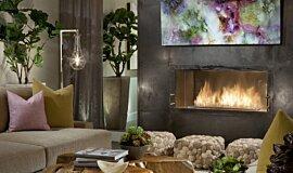 Dream House Linear Fires Inserts de cheminée Idea
