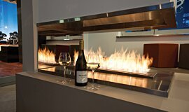 Sirens Bar Commercial Fireplaces Brûleurs éthanol Idea