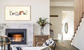 Interior Blossoms Residential Fireplaces Série Incurvée Idea