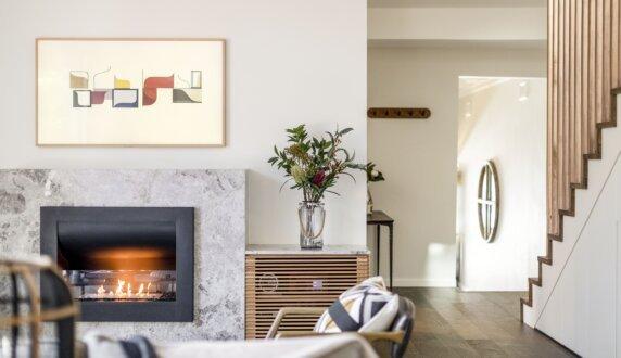 Interior Blossoms - Firebox 720CV Série Incurvée by EcoSmart Fire
