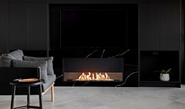 Syrenuse Apartments Residential Fireplaces Simple face Idea