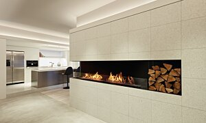 Flex 68LC.BX2 Angle gauche - In-Situ Image by EcoSmart Fire