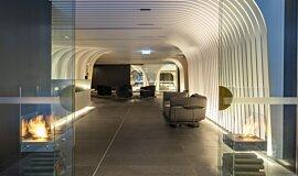 SKYE Suites Sydney Commercial Fireplaces Cheminées à poser Idea