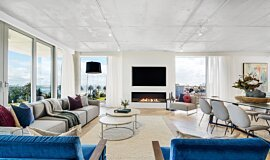 Espace Residence Commercial Fireplaces Simple face Idea
