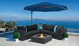 Paulas Home Living Commercial Fireplaces Tables extérieure Idea