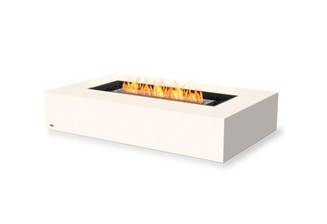 Wharf 65 Tables extérieure - Ethanol / Bone by EcoSmart Fire