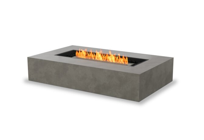 Wharf 65 Tables extérieure - Ethanol / Natural by EcoSmart Fire