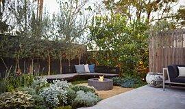 Stone Lotus Landscapes Landscape Fireplaces Tables extérieure Idea