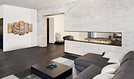 Living Area Residential Fireplaces Série Flex Idea
