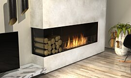 Living Room Residential Fireplaces Série Flex Idea