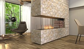 Living Area Residential Fireplaces Série Flex Idea