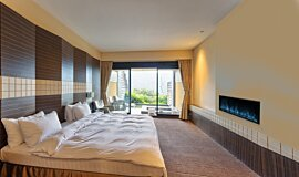Hotel Room Hospitality Fireplaces Fireplace Insert Idea