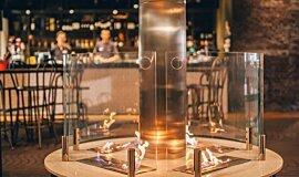 [m]eatery  Commercial Fireplaces Brûleurs éthanol Idea