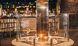 [m]eatery  Hospitality Fireplaces Brûleurs éthanol Idea