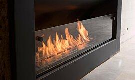 Max Brenner Commercial Fireplaces Série Incurvée Idea
