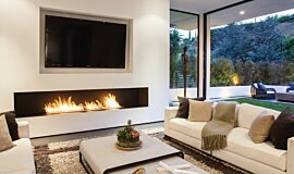 Rising Glen Residential Fireplaces Built-In Fire Idea