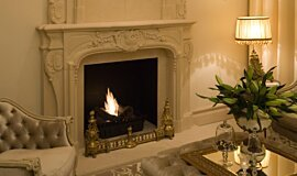 Chateau Couture Builder Fireplaces Built-In Fire Idea