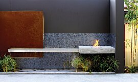 Private Residence Residential Fireplaces Ethanol Burner Idea