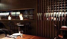 Hurricane's Grill & Bar Commercial Fireplaces Brûleurs éthanol Idea