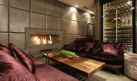 May Fair Bar Commercial Fireplaces Brûleurs éthanol Idea