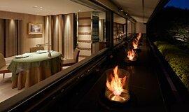 Hiramatsu Hotel & Resorts Hospitality Fireplaces Braseros éthanol Idea