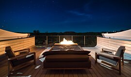 Longitude 131º Hospitality Fireplaces Brûleurs éthanol Idea