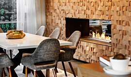 The Brindabella Residential Fireplaces Built-In Fire Idea