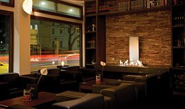 Flemings Hotel Commercial Fireplaces Ethanol Burner Idea
