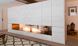 Fujiya Mansions Residential Fireplaces Built-In Fire Idea