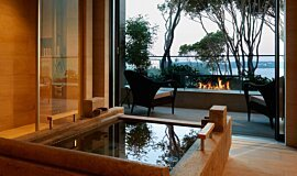 Hiramatsu Hotel & Resorts Hospitality Fireplaces Brûleurs éthanol Idea