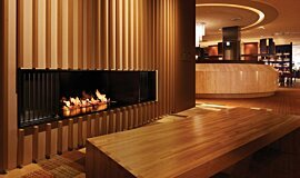 Keio Plaza Hotel See-Through Fireplaces Brûleurs éthanol Idea