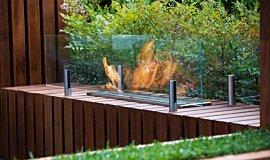 Melbourne International Flower and Garden Show Fireplace Accessories Ethanol Burner Idea