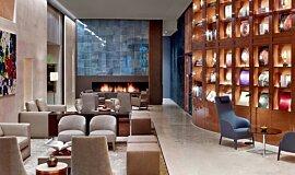 St Regis Hotel Lobby 2 Hospitality Fireplaces Brûleurs éthanol Idea