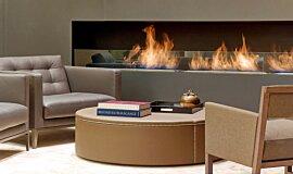 St Regis Hotel Lobby Hospitality Fireplaces Brûleurs éthanol Idea