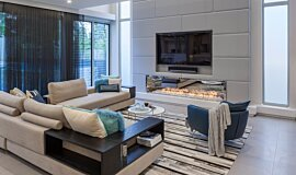 Viva Attadale Residential Fireplaces Built-In Fire Idea