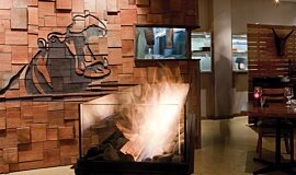 Hippo Creek African Grill Hospitality Fireplaces 生物乙醇燃烧器 Idea