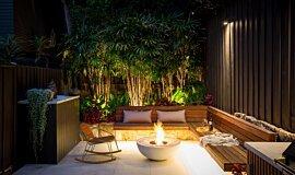 Stone Lotus Landscapes Commercial Fireplaces Freestanding Fire Idea