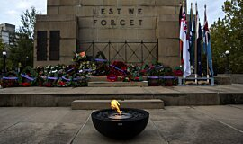 North Sydney ANZAC Day Dawn Service Idea