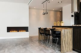 Angle droit Fireplace - In-Situ Image by EcoSmart Fire