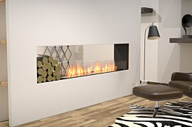 Double face Fireplace - In-Situ Image by EcoSmart Fire